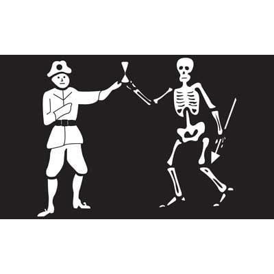 Bart Roberts Pirate Flag Skeleton Ship Banner Pennant New 3x5 Foot Jolly Roger