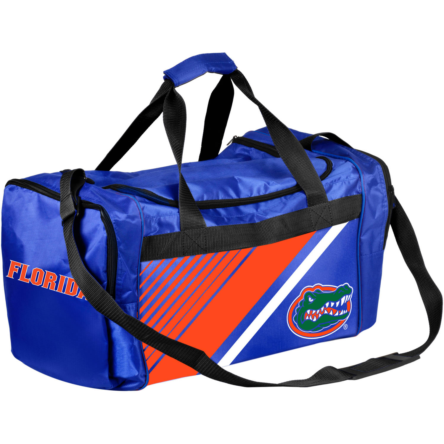 Forever Collectibles - NCAA University of Florida Gators Border Stripe Duffle Bag