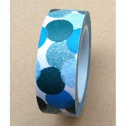 Love My Tapes Washi Tape 15mmX10m-Blue Bubbles