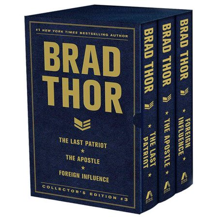 Brad Thor Collector's Edition 3: The Last Patriot / The Apostle / Foreign Influence