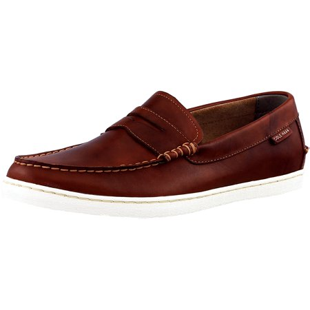 Cole Haan Men's Pinch Weekender British Tan Ankle-High Leather Loafer -