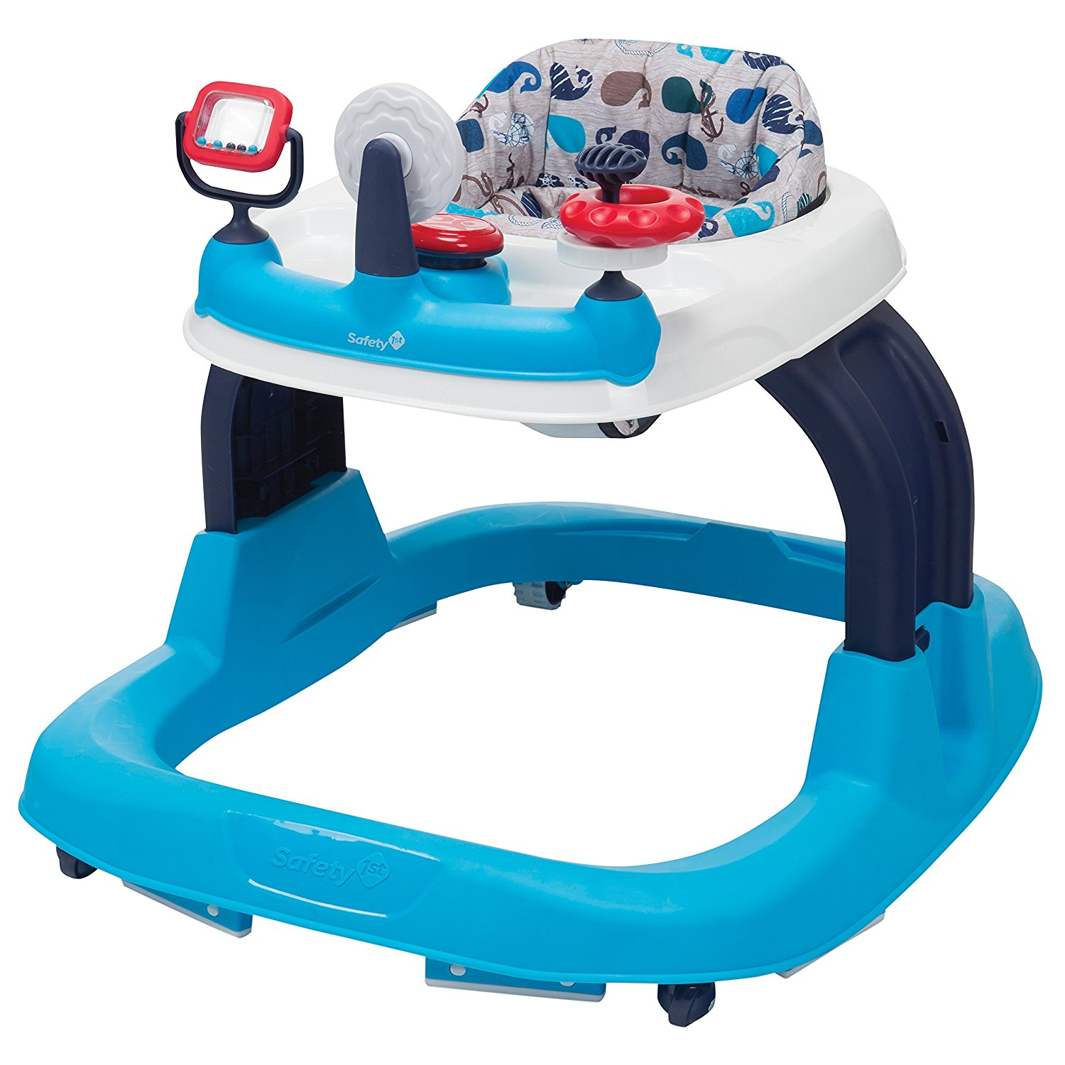 Ready-Set-Walk Walker, Nantucket, 3 toys with multiple developmental activities By Safety 1st