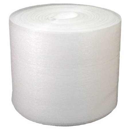 Uboxes Foam Wrap, 12 in x 150 ft x 1/16 in Thick, White