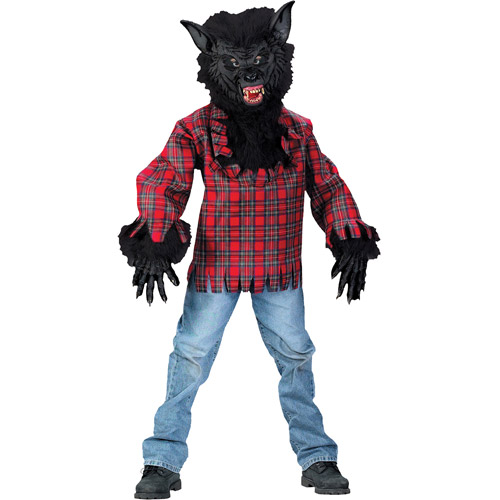 Wolf Teen Halloween Costume - One Size