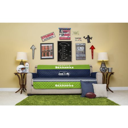 Nfl licensed furniture protector sofa seattle seahawks for Furniture pick up seattle