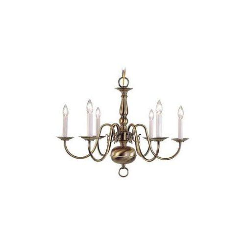5006 6-Light Williamsburg Chandelier