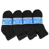 Falari 12-Pack Diabetic Socks Ankle Unisex Variety Size