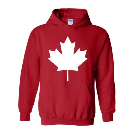 Unisex Canada Flag Canada Maple Leaf Hoodie Sweatshirt