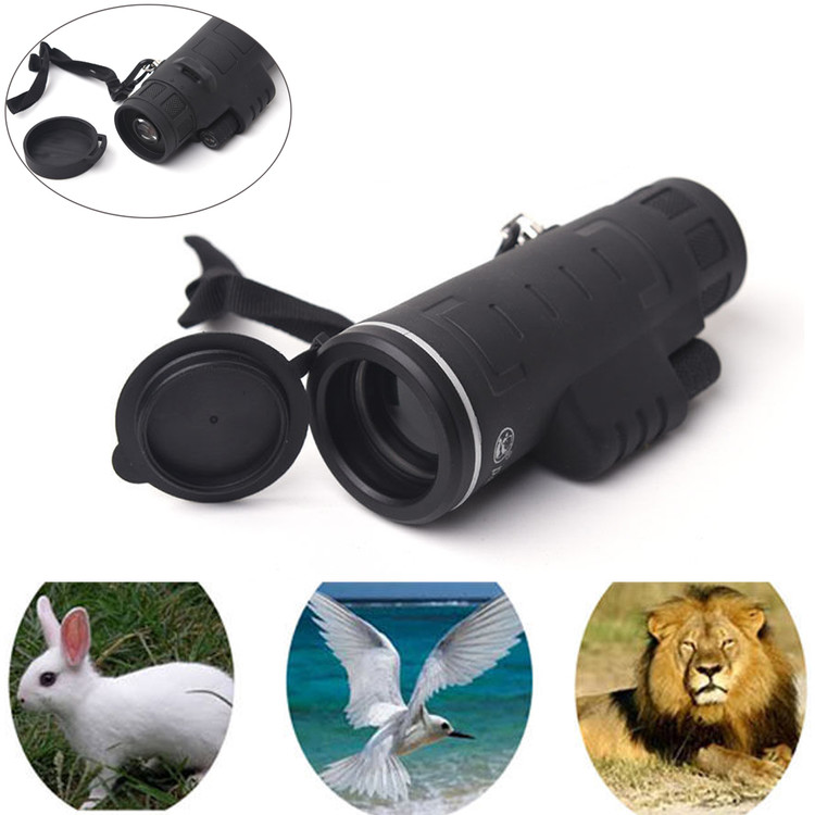 40x60 HD Day & Night Vision Optical Monocular Hunting Camping Hiking Telescope by