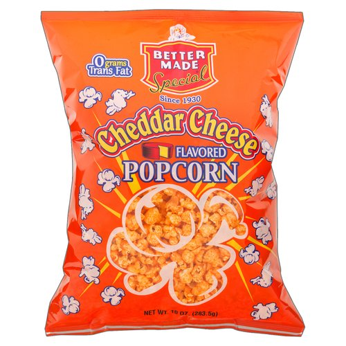 Better Made Special Cheddar Cheese Flavored Popcorn, 10 oz