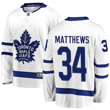 pretty nice 0b39a e18b8 Auston Matthews Toronto Maple Leafs NHL Fanatics Breakaway Away Jersey    Walmart Canada