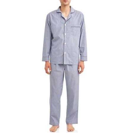 Hanes Men's Woven PJ Set (Fun Onesies For Men)