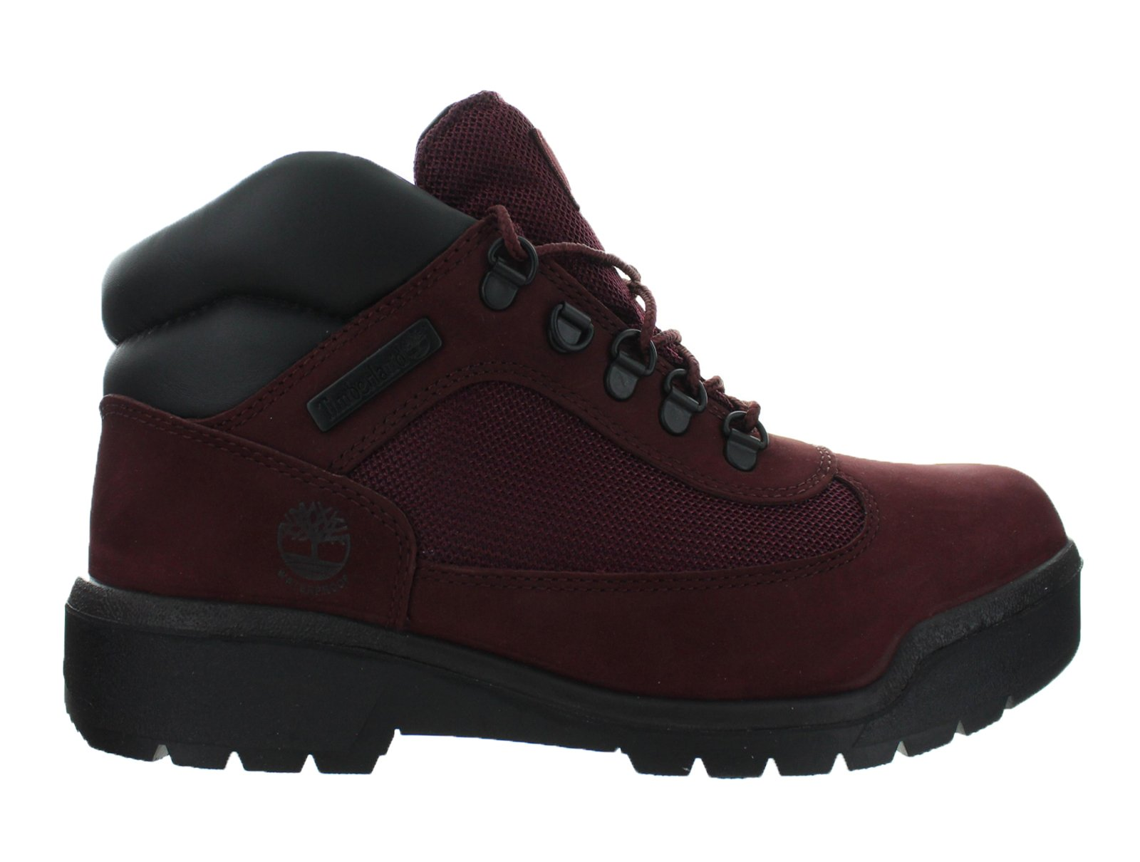 Timberland 6 Inch Waterproof Men's Field Boots Burgundy tb0a1a2u by Timberland