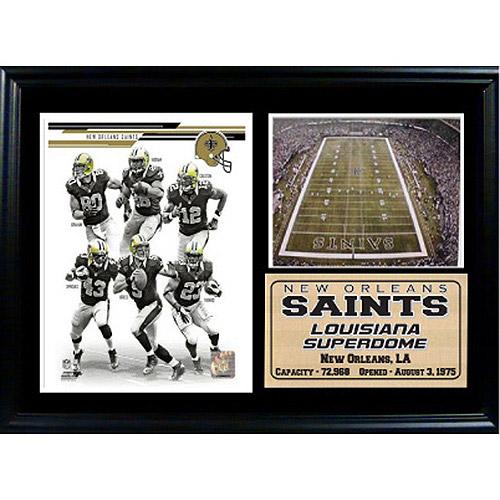 NFL New Orleans Saints Photo Stat Frame, 12x18