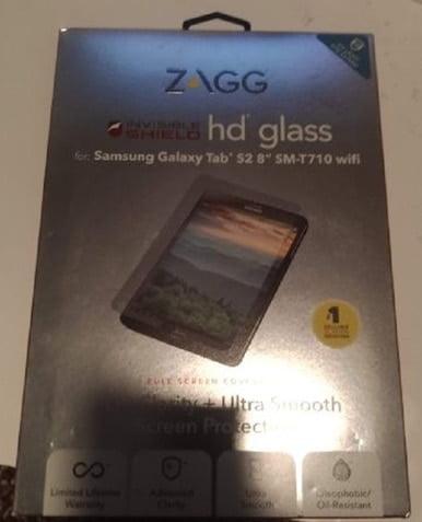 Invisible Shield Clear ZAGG invisibleSHIELD GARN200 for Garmin Nuvi 200 Screen