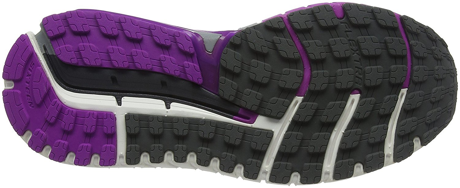 68748d3f04a41 Brooks - Brooks Women s Ariel  16 Anthracite Purple Cactus Flower Primer  Grey 8.5 B US - Walmart.com