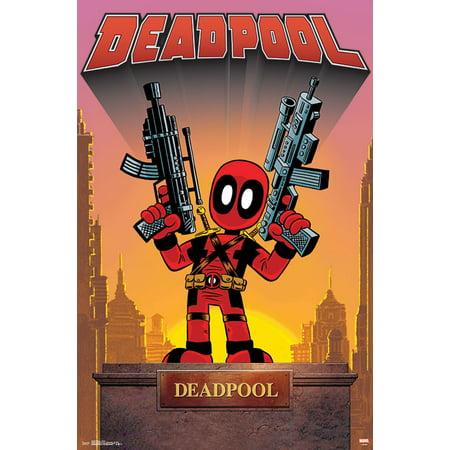 Deadpool Stats (Deadpool - Statue)