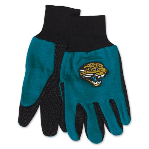 Jacksonville Jaguars Two Tone Adult Size Gloves by Wincraft