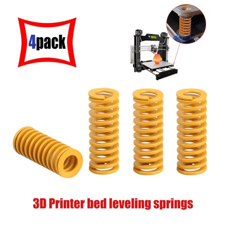 EEEkit 4pcs 3D Printers Heated Bed Springs Light Load Compression Spring for 3D Printer Creality CR-10 10S