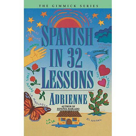 Spanish in 32 Lessons (Spanish Halloween Lesson Plans)