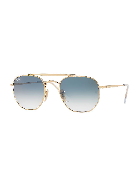 51MM Angular Square Sunglasses