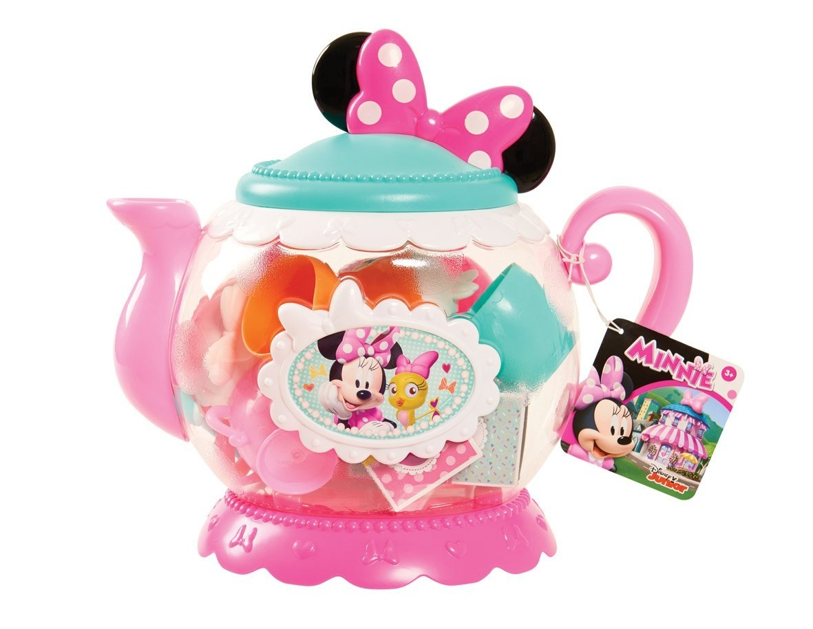 Disney Minnie Bow-Tique Terrific Teapot Set Role Play by Just Play (DOMESTIC)