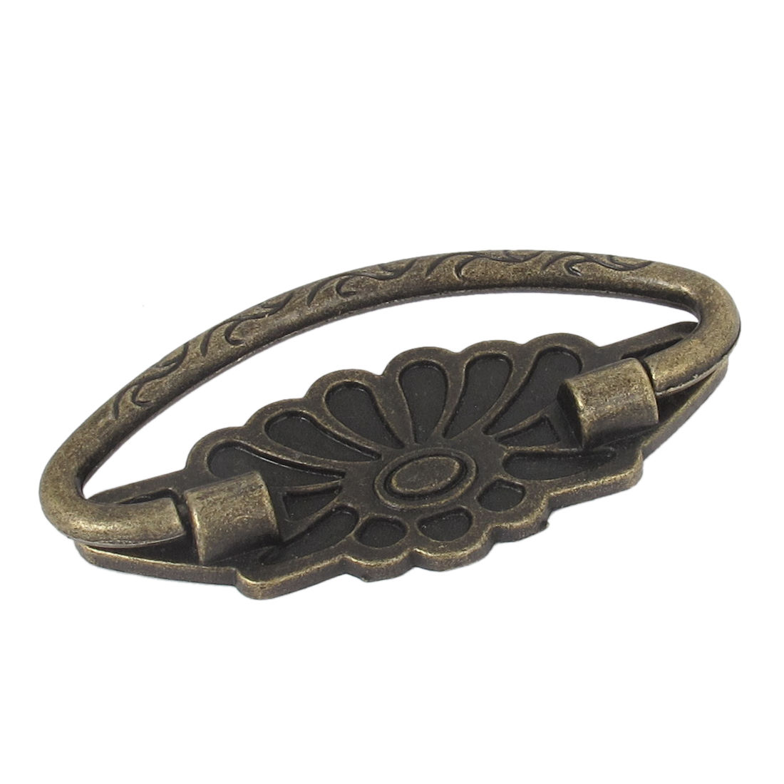 Vintage Style Arch Grip Ring Dresser Drawer Pull Handle Bronze Tone - image 1 of 3