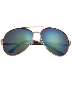 d24a7db15e Product Image XL Extra Large Gold Frame Aviator Sunglasses Big Head  Oversized Wide 62mm Mirror Men