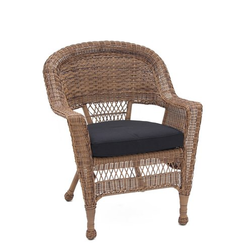 Wicker Lane Lounge Chair with Cushion (Set of 4)