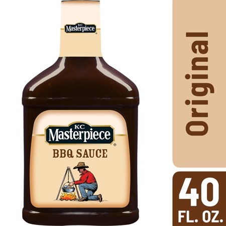 (2 Pack) KC Masterpiece Original Barbecue Sauce, 40 (Best Supermarket Bbq Sauce Uk)