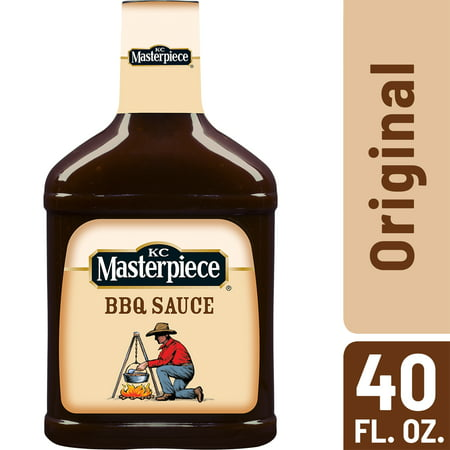 Kc Masterpiece Bbq Sauce ((2 Pack) KC Masterpiece Original Barbecue Sauce, 40 oz )