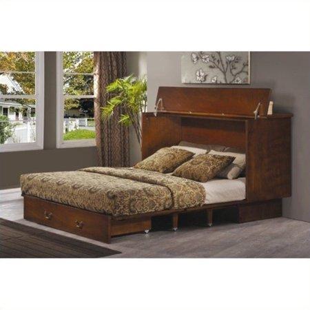 Arason Original Creden-ZzZ Queen Pekoe Murphy Cabinet Bed (Discount Beads)
