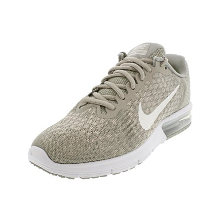 Nike Women's Air Max Sequent 2 Pale Grey / Sail - Light Bone Ankle-High Running Shoe