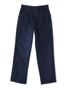 Rustler Boys Relaxed Fit Jeans Sizes 4-16 & Husky
