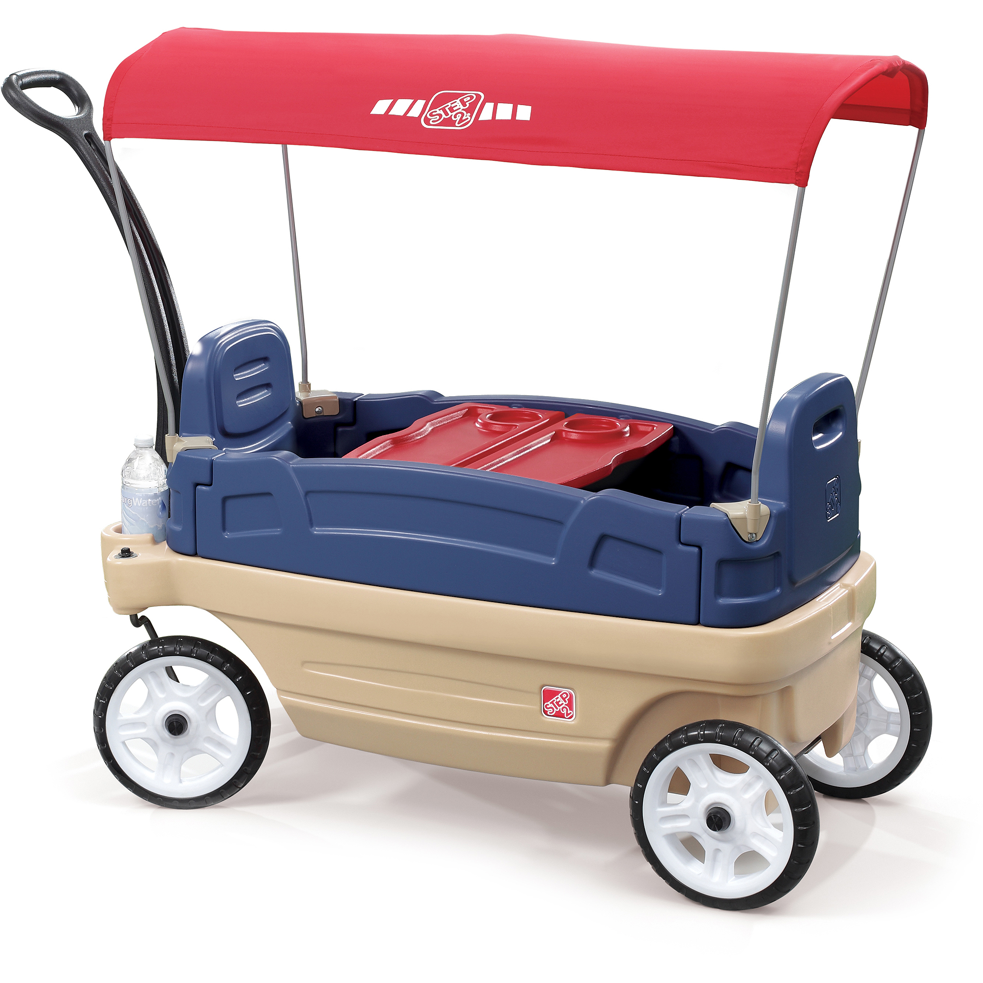 Step2 Whisper Ride Touring Wagon Kids Pull Beach Play Outdoor Toy