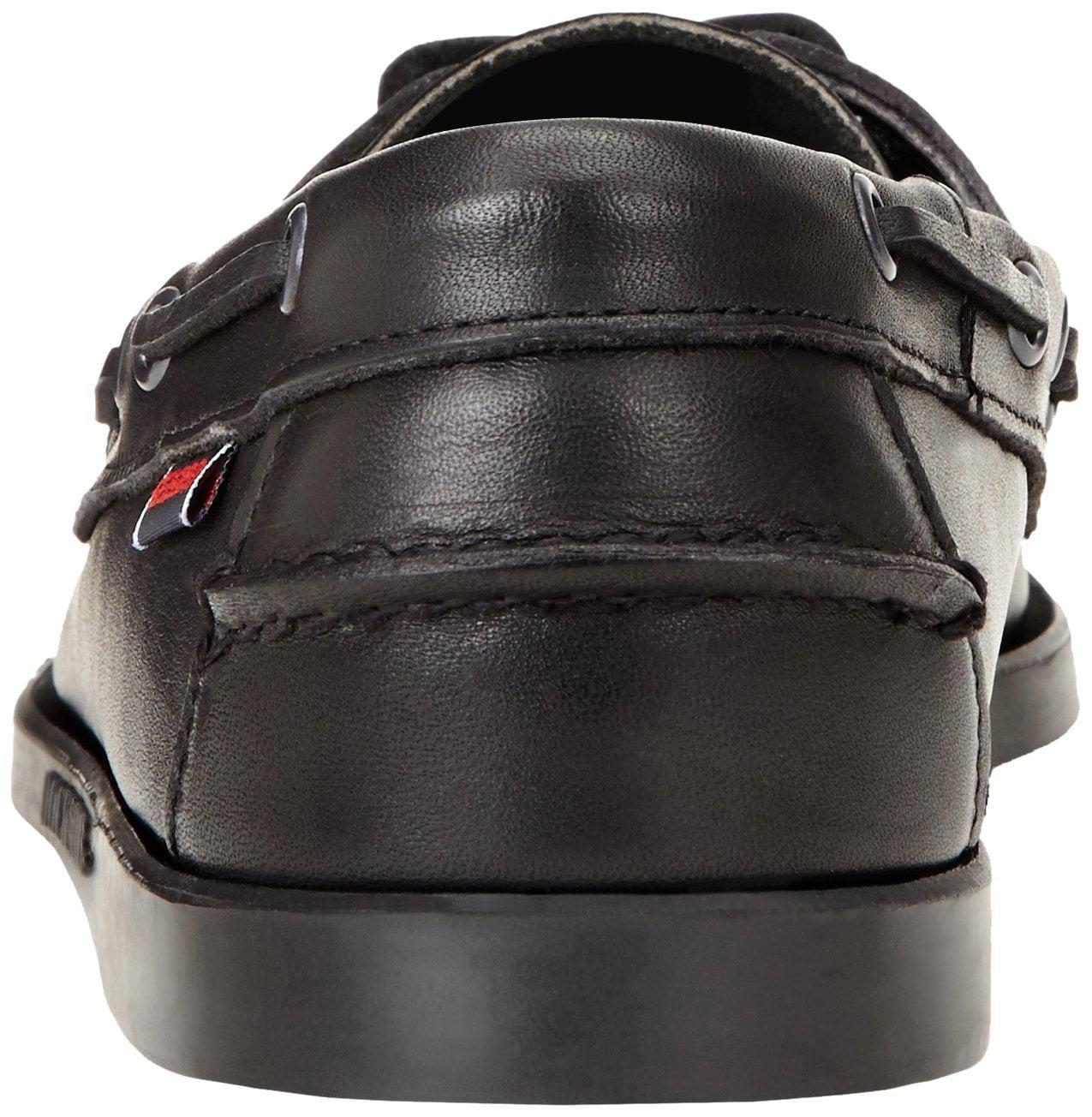B72673 - DOCKSIDES 10 / Black_Leather / M