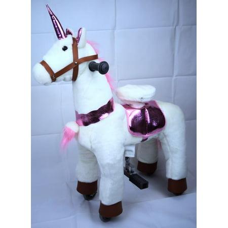 Unicorn Pony Rocking Horse Ride On Cycle Giddy Up Cowboy!