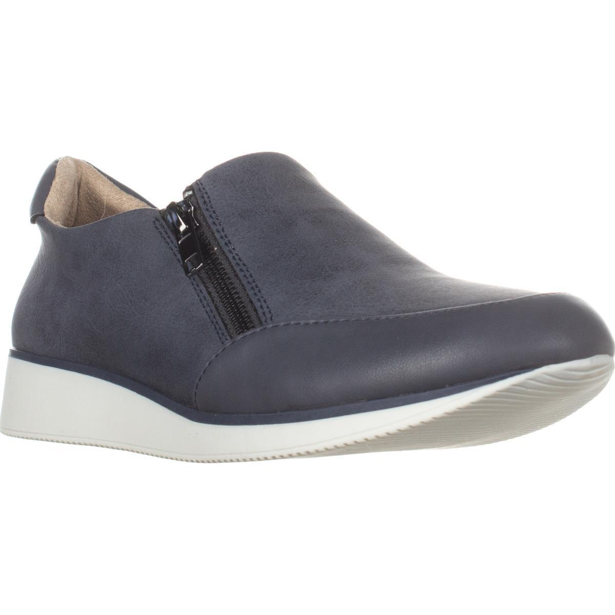 Womens Naturalizer Finny Wedge Fashion Sneakers, Paris Blue by Naturalizer