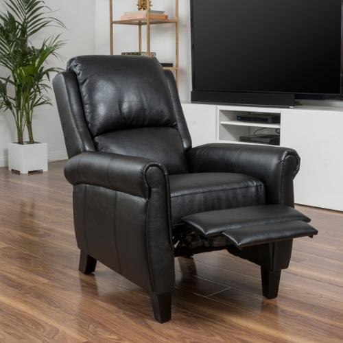 Exceptionnel Christopher Knight Home Haddan PU Leather Recliner Club Chair