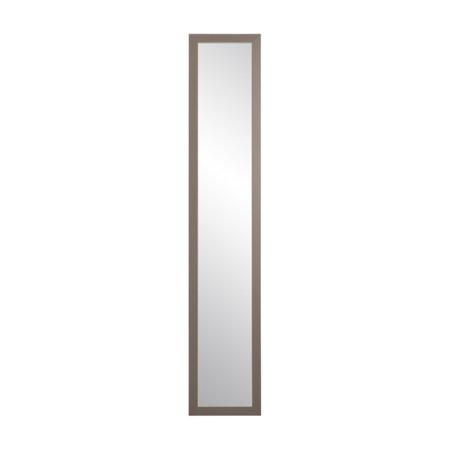 BrandtWorks Rectangular Gray Slim Floor (Slim Mirror)