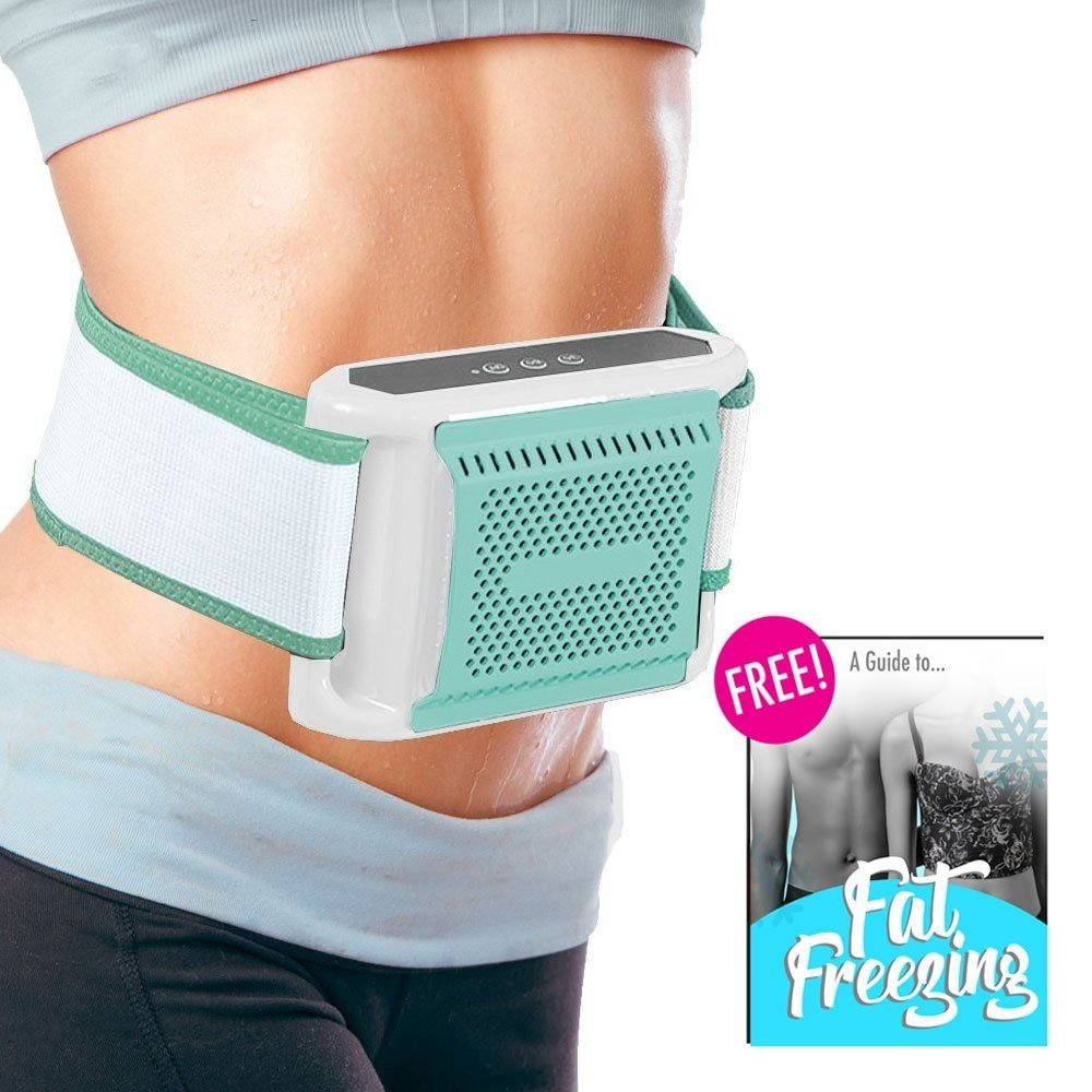 Fat Freezer Body Sculpting Device - Non Surgical Fat Freezing At-Home Fat Loss Treatment Kit with Accessories and FREE Ebook!