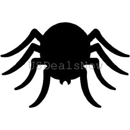 (2) Scary Spider Creepy Halloween Vinyl Decal Car Window Stickers - Scary Creepy Halloween Music