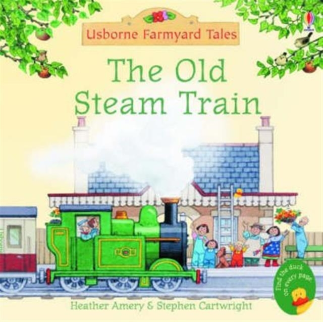 Old Steam Train (Paperback)