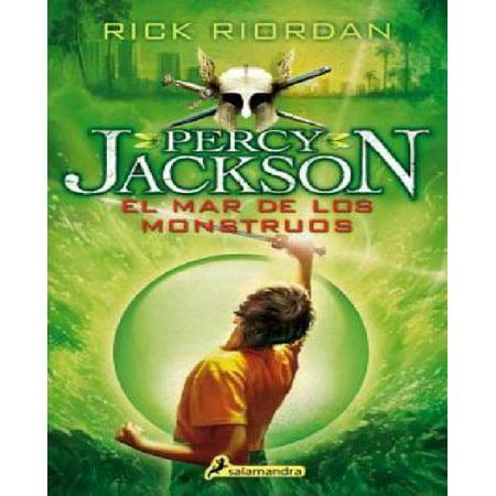 Percy Jackson 02. El mar de los monstruos (Percy Jackson y los dioses del olimpo / Percy Jackson and the Olympians) (Spanish Edition) - image 1 of 1