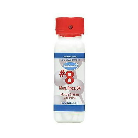 Hyland's Homeopathic, Muscle Cramps and Pains Relief, Mag. Phos. 6X