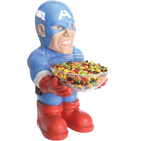 Captain America Candy Bowl Holder Halloween Decoration](Outrageous Halloween Decorations)
