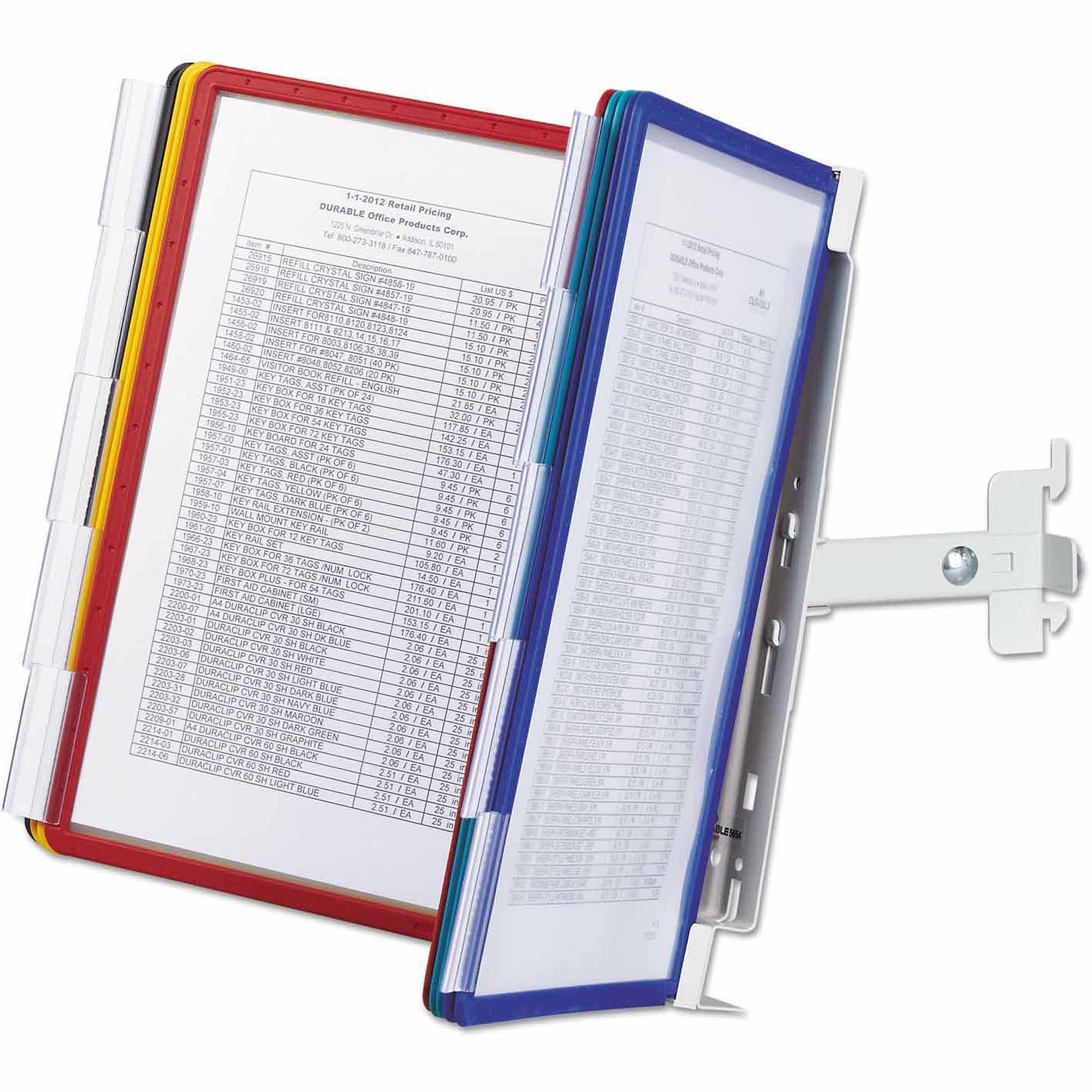 Durable SHERPA Panel Bracket Reference System, 10 Panels