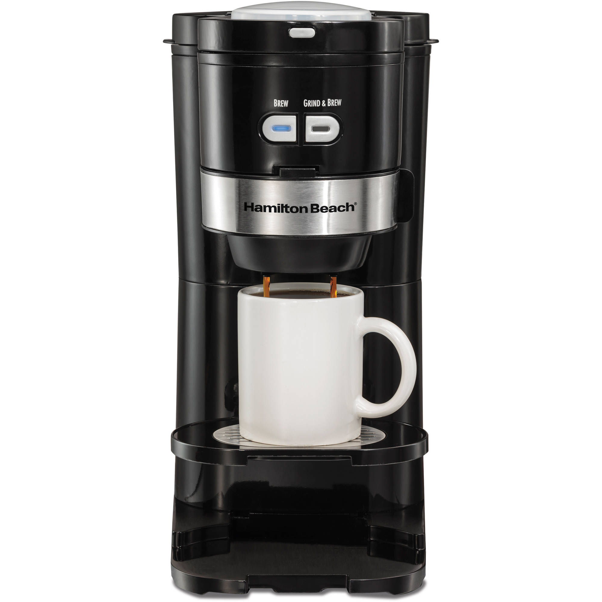 Hamilton Beach Single Serve Grind And Brew Coffee Maker Model