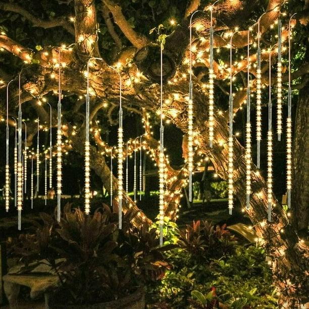 Details about  /LED Light Meteor Shower Rain Snowfall Tree Falling String Lights Christmas Light