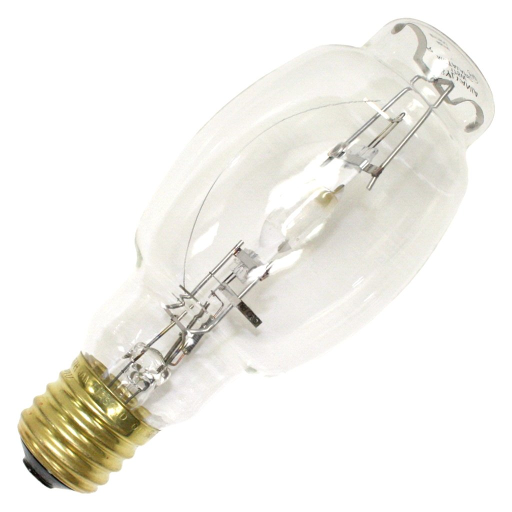 175 Watt - BT28 - Metal Halide - Unprotected Arc Tube - 4200K - ANSI M57/E - Mogul Base - Universal Burn - M175/U - SYLVANIA 64471